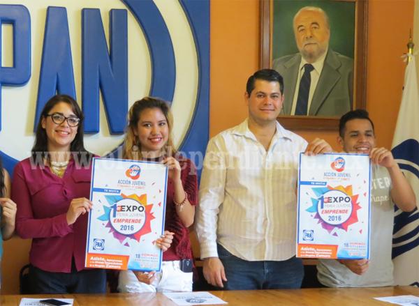 Acción juvenil invita a jóvenes para participar en la Primer Expo Feria Juvenil Emprende 2016