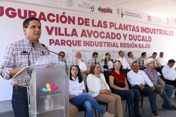 Generar condiciones para el desarrollo económico, una prioridad: Silvano Aureoles