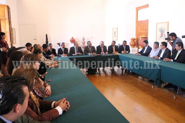 Signan Gobierno del Estado y el IEM convenio de recursos para ciencia y tecnología
