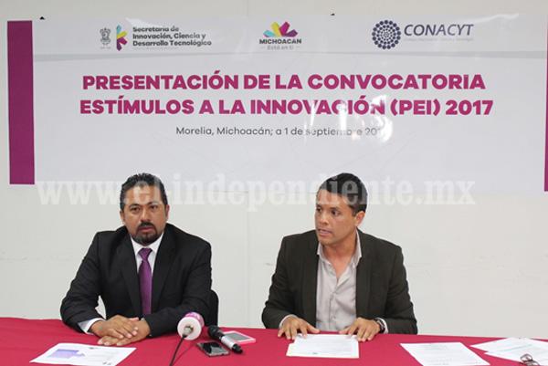 Llama SICDET a empresas a inscribir proyectos en el Programa de Estímulos a la Innovación