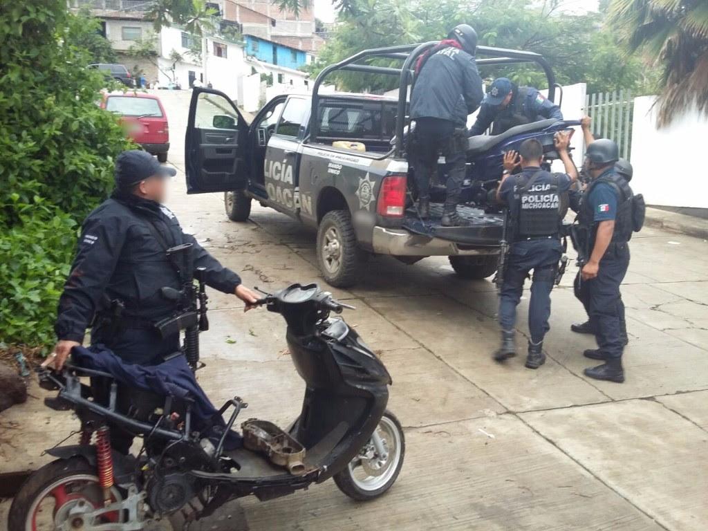 Un oficial y civil muertos durante enfrentamiento en Tacámbaro