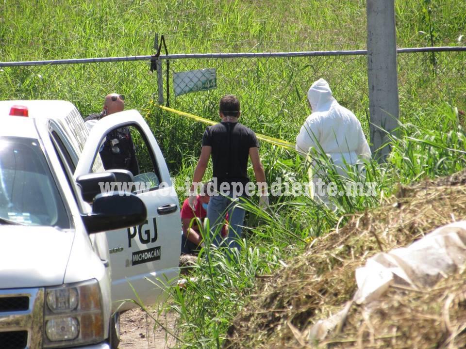 Encuentran cadáver putrefacto en canal de riego de Zamora