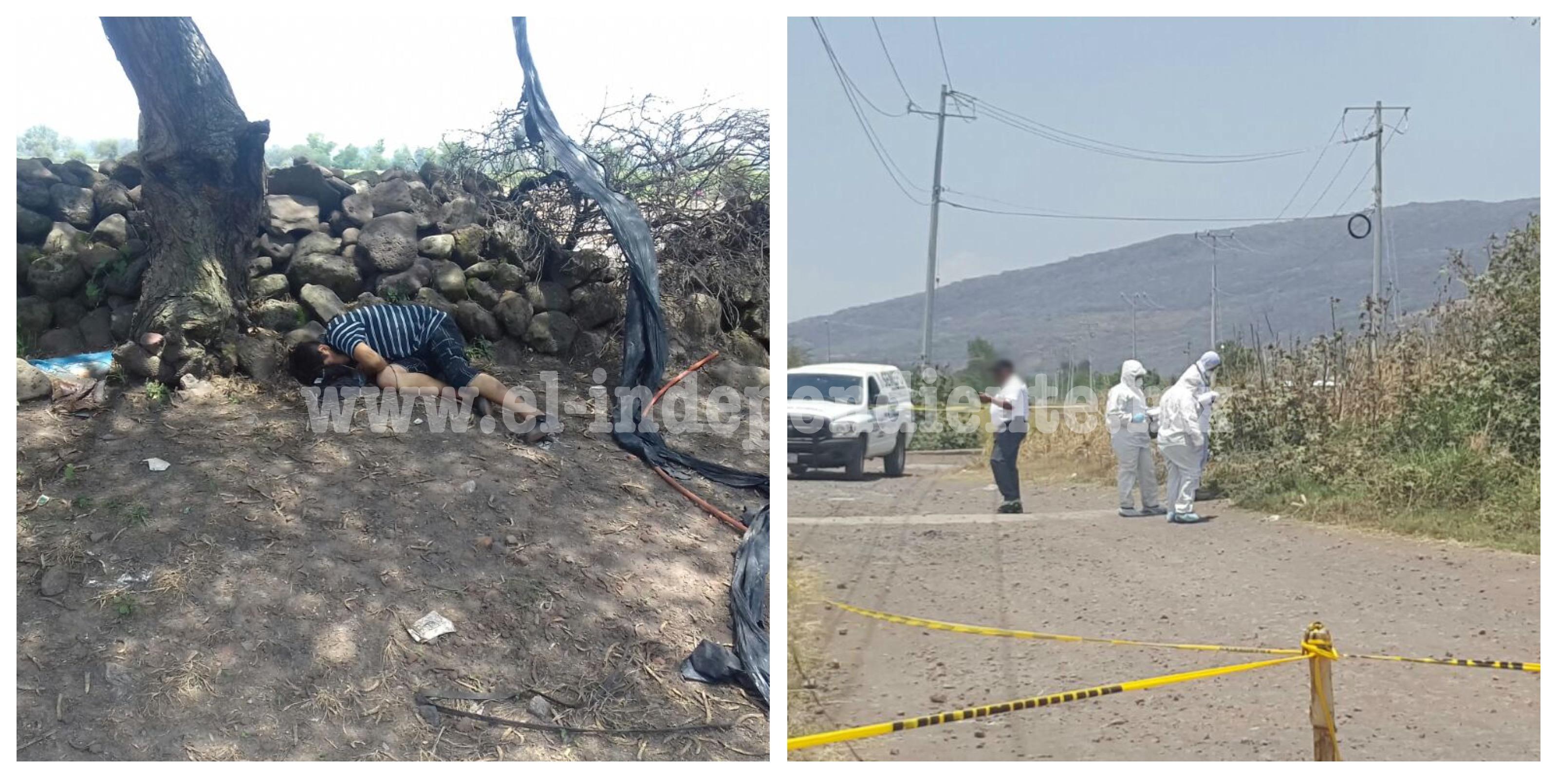 Encuentran cadáver baleado en el Camino Viejo a Chavinda