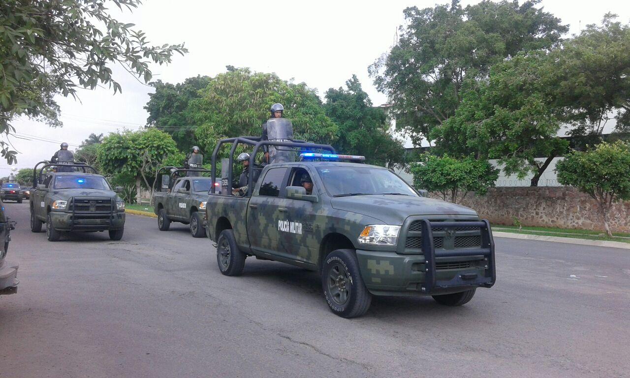 Depura SSP a ex rurales adscritos a la Policía Michoacán, en Tepalcatepec