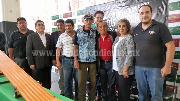 Con éxito se realizó la 4a. Reunión de Coleccionistas de Autos a Escala Zamora