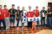 "Gobierno Municipal apoya a escuela de box ""High School Boxing"""