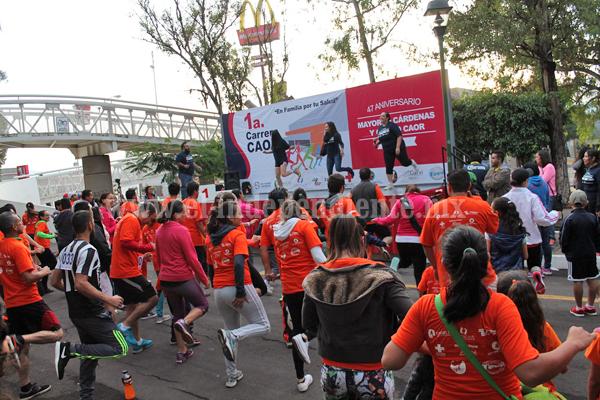 DGTI y Mayoreo Cárdenas realizaron carreras pedestres por sus festejos de aniversario