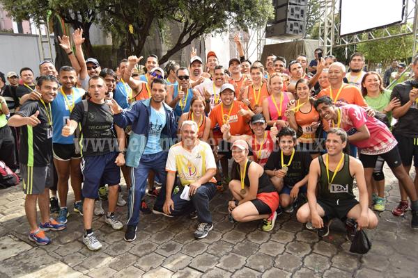 Corazas tuvo destacada actuación en carrera de Ixtlán