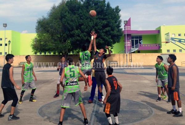Abren convocatoria para torneo de Liga Juvenil de Basquetbol