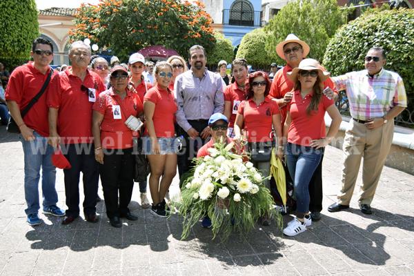 Ixtlán dio la bienvenida a los peregrinos  a las fiestas patronales