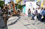 Alcalde privilegia mejorar vialidad en municipio y dotar de infraestructura al CECyTEM