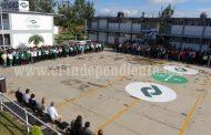 CONALEP  Zamora gestiona  2 mdp para techado  de su patio cívico