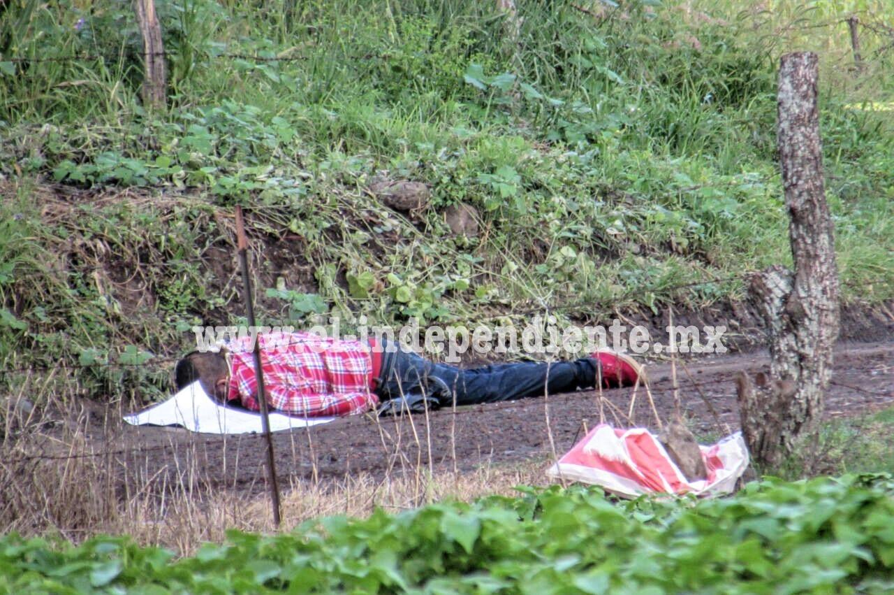 El primer homicidio de octubre en Zamora; abandonan cadáver con mensaje en brecha