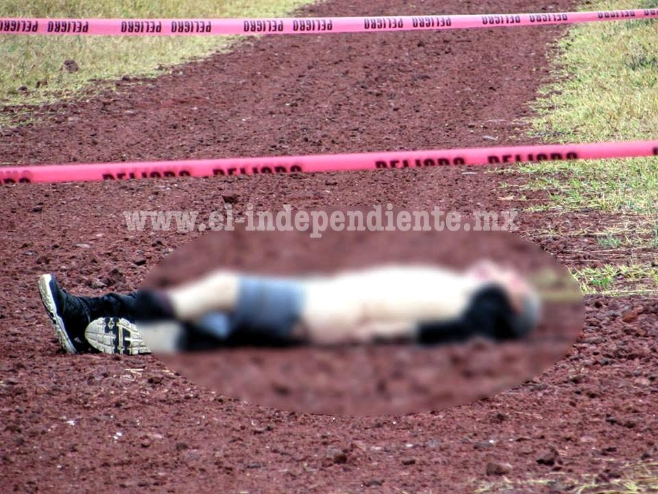 Semidesnudo y con impactos de bala encuentran cadáver en brecha de Zamora