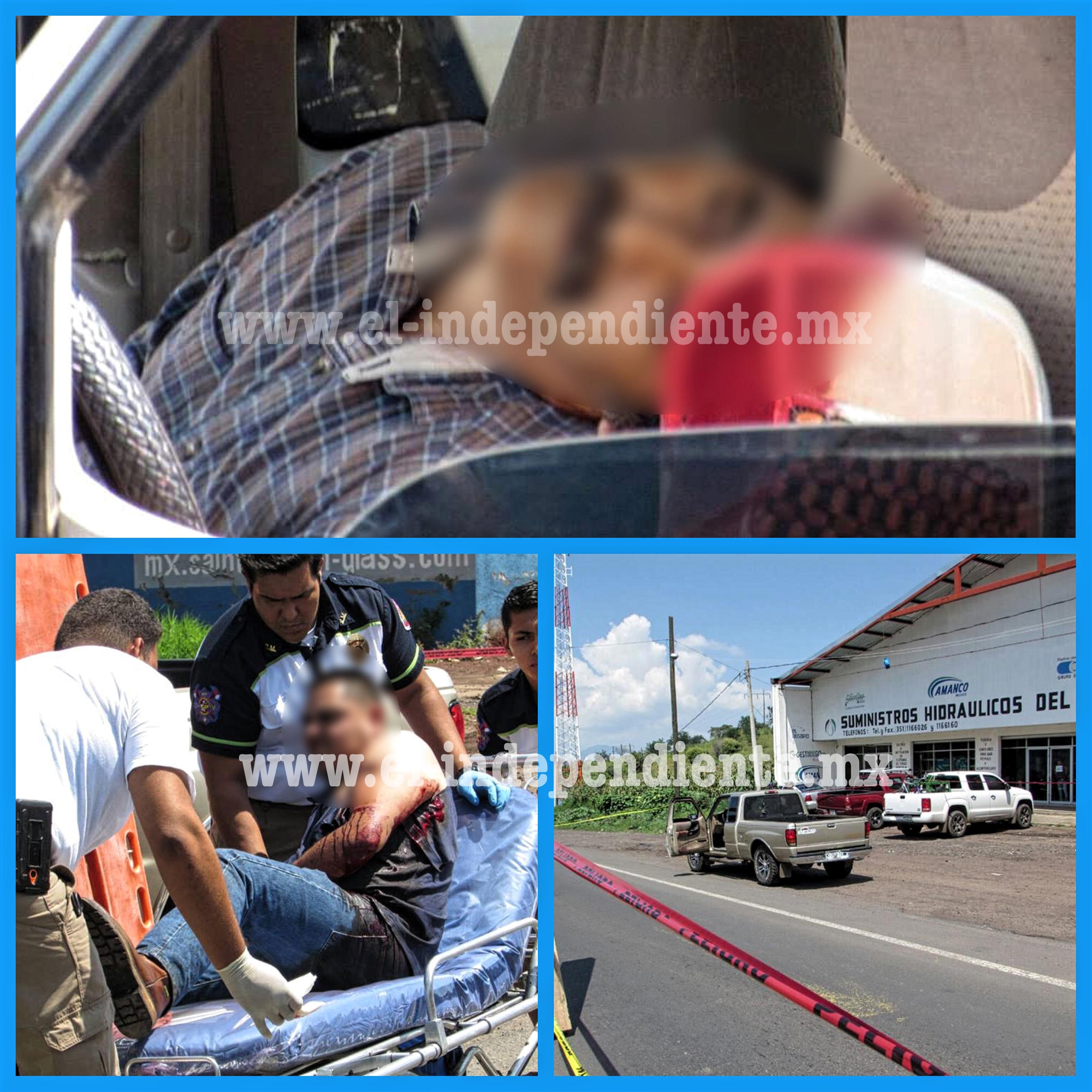 Un muerto y un herido tras ser atacados a balazos en Tangancícuaro