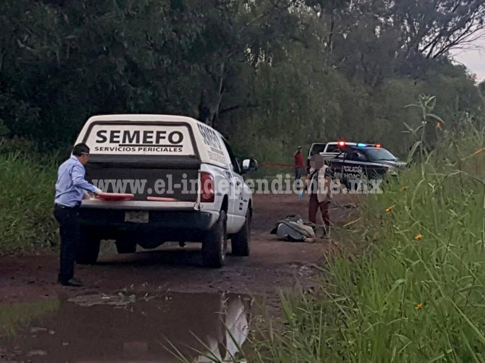 """En Zamora localizan cadáver encobijado camino a """"Los Romeros"""""""