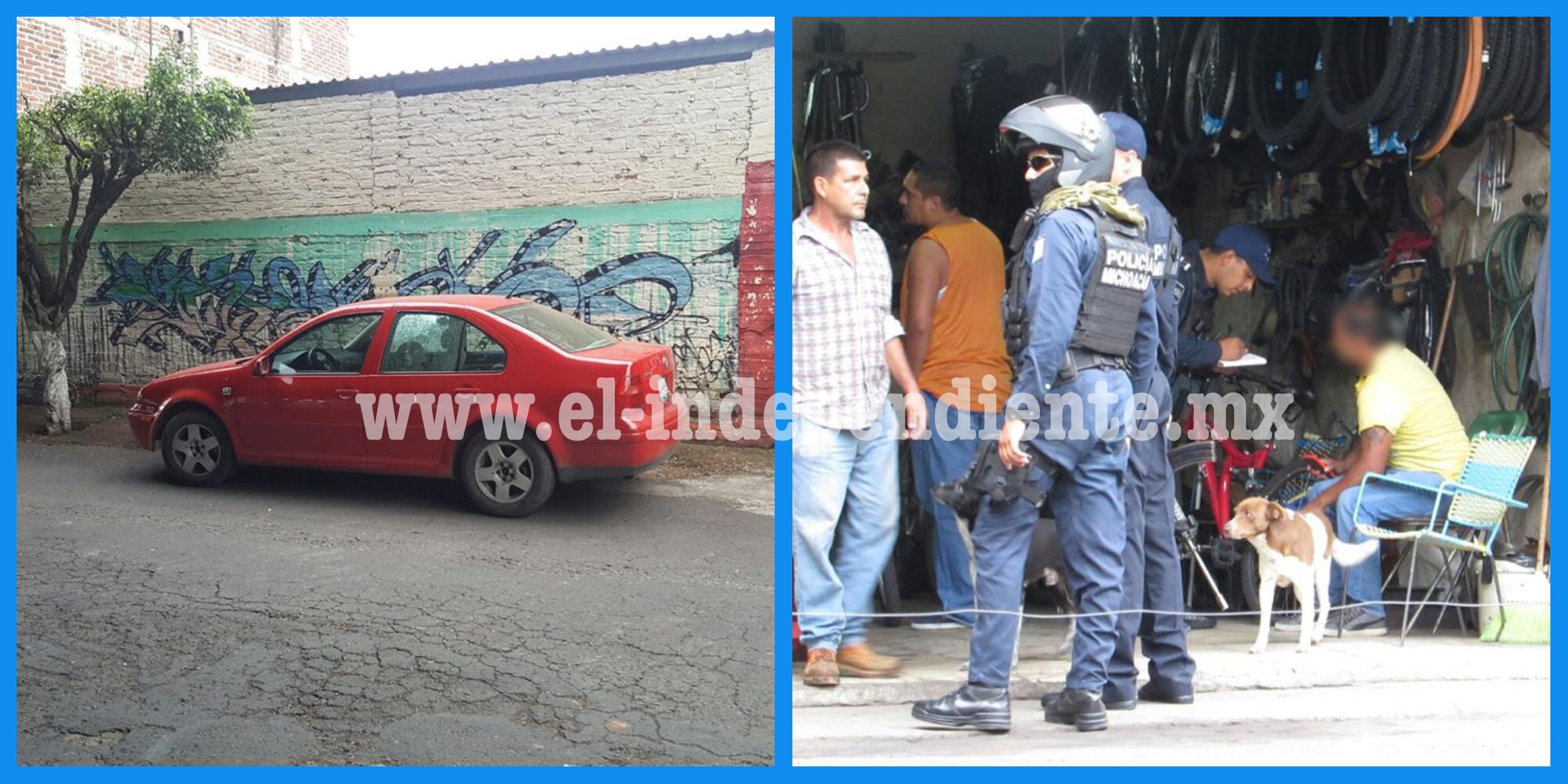 Motociclistas armados disparan contra automovilista y huyen