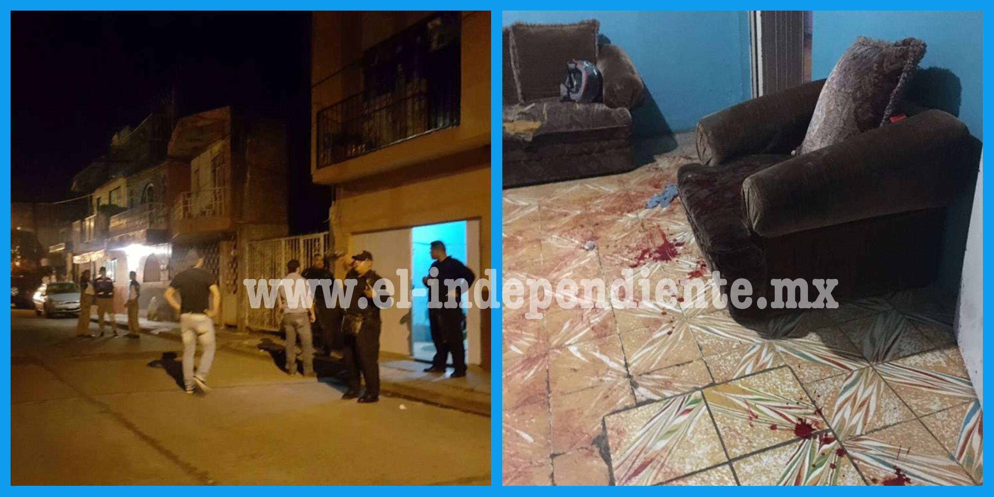 Empistolados irrumpen en domicilio de la Colonia Ramírez y ultiman a un hombre