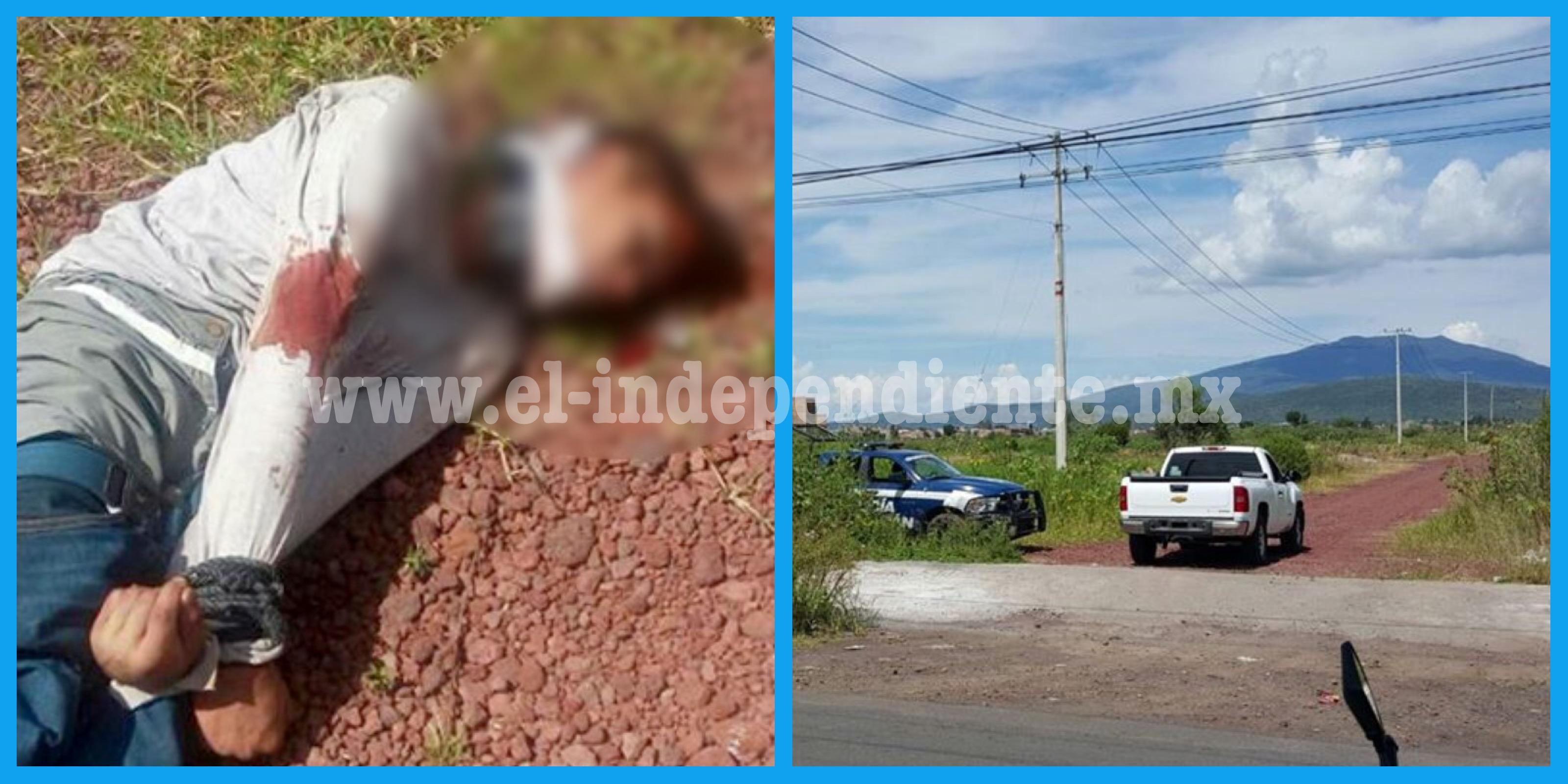 Continúan los homicidios en Zamora; encuentran cadáver maniatado en una brecha cercana al Real de Minas