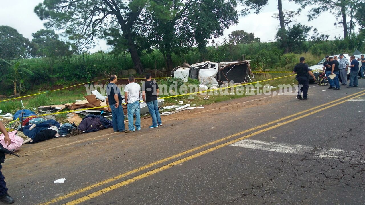 Trágico accidente deja dos sahuayenses muertos y dos heridos graves