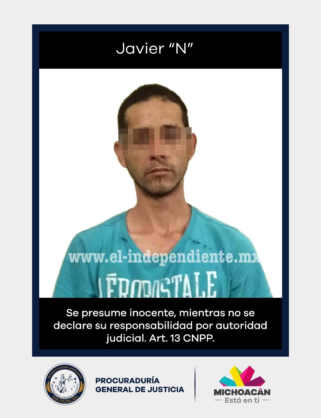Vinculan a proceso a sujeto acusado del homicidio de su hijastro en Jiquilpan