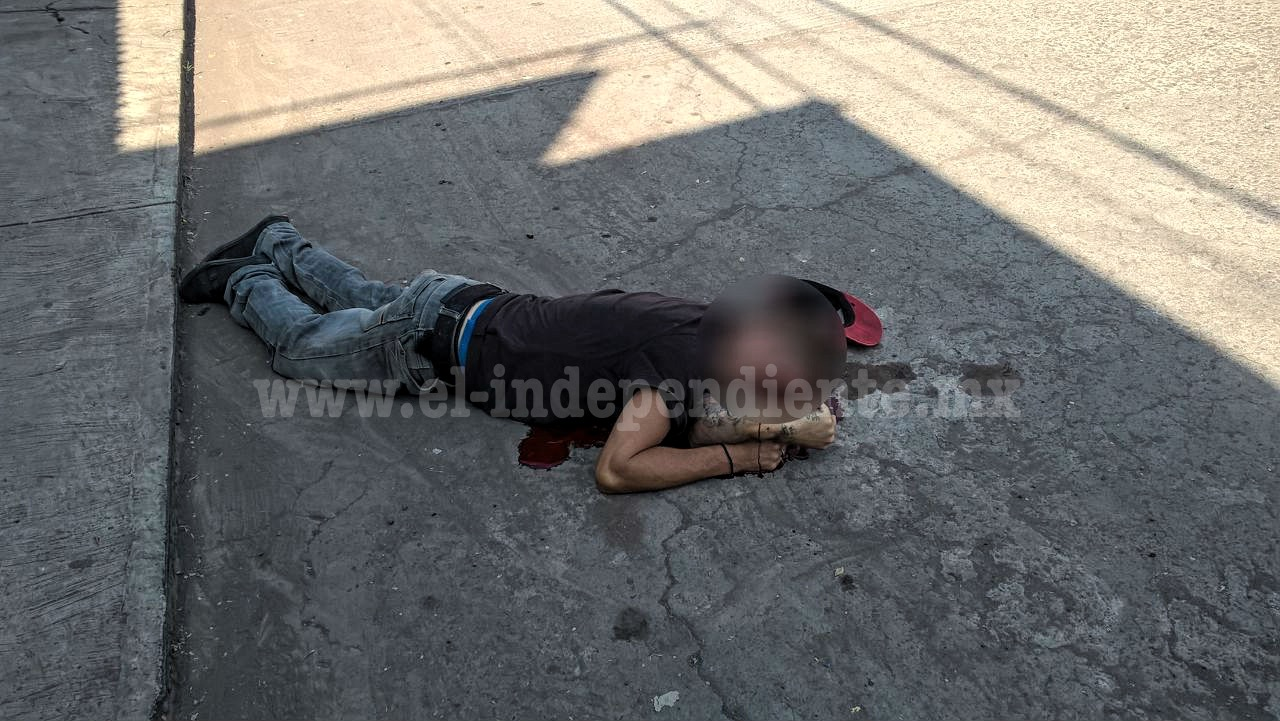 De al menos 5 balazos matan a un hombre en Sahuayo