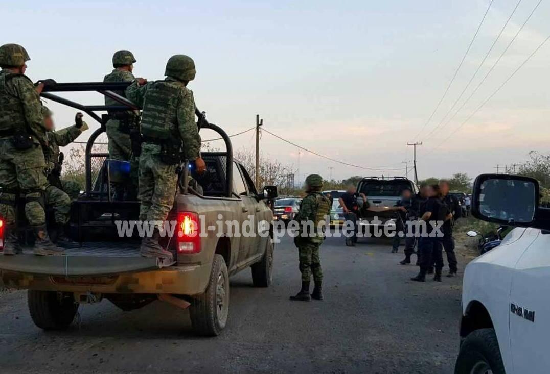 Se enfrentan civiles y policías en Villa Fuerte municipio de Zamora