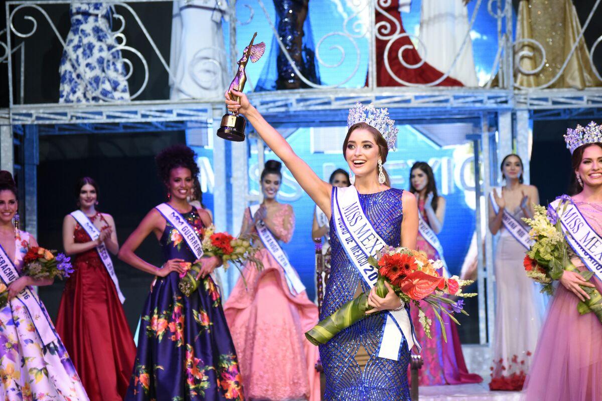 En Michoacán, Ana Girault obtiene el título de Miss México 2016