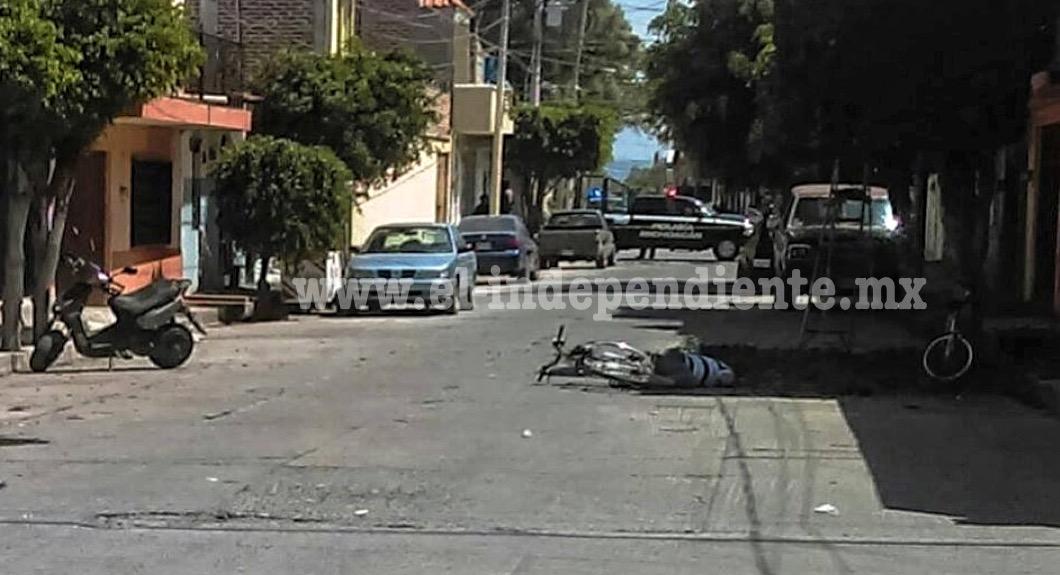 Matan a balazos a un ciclista en Sahuayo