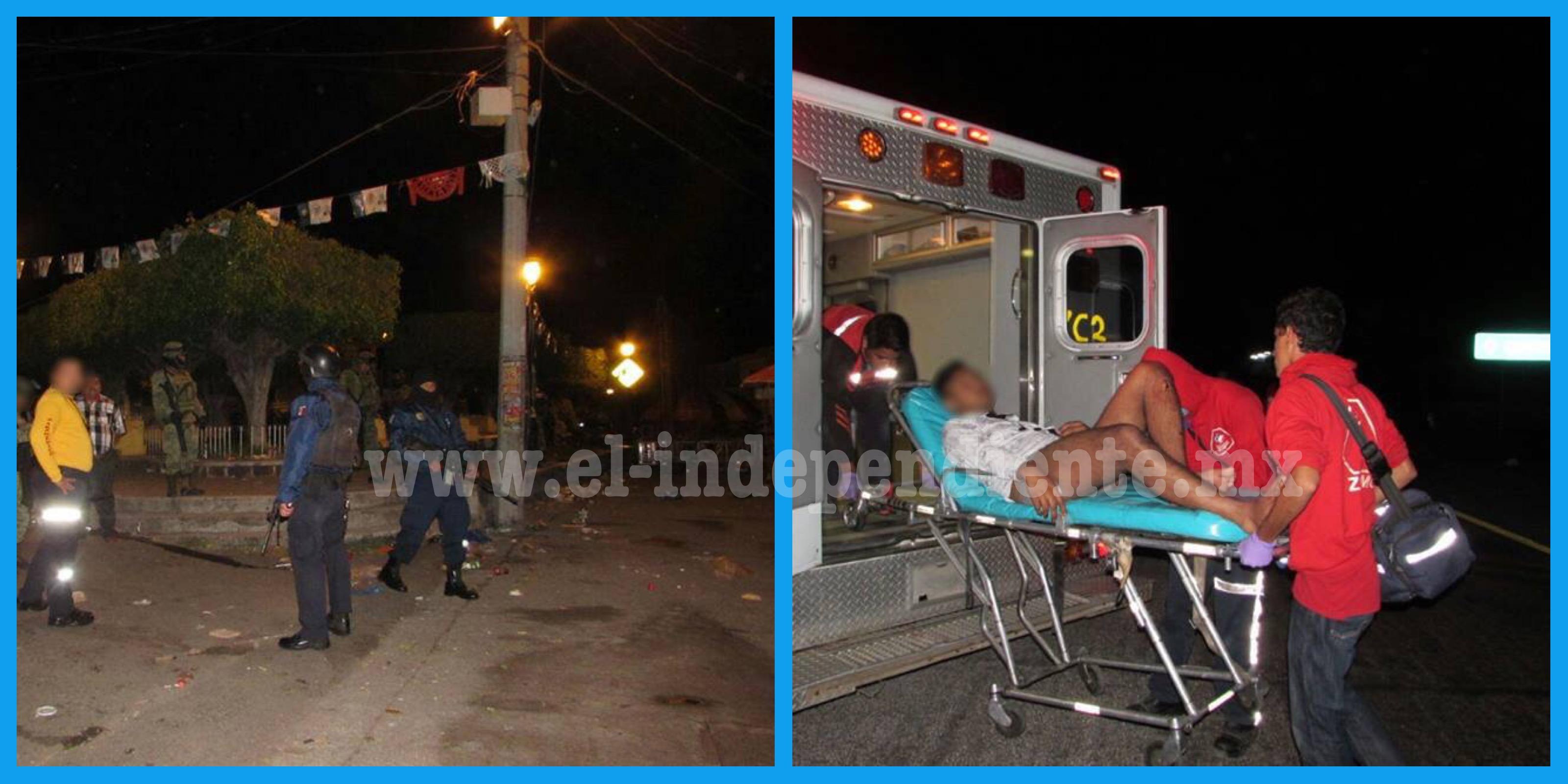 Fiesta en La Rinconada se tiñe de sangre; 4 lesionados por bala