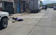 De tres balazos ultiman a un hombre en la Ejidal Sur de Zamora