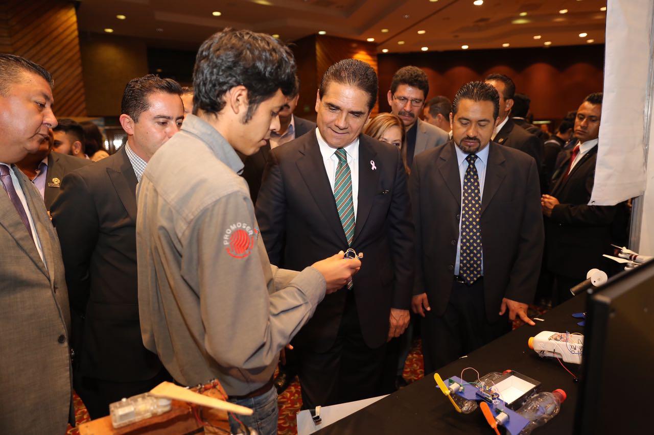 Inaugura Gobernador 23 Semana Nacional de Ciencia y Tecnología