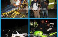 Dos menores heridos al chocar su moto contra un taxi en Zamora