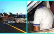 Choque de frente deja un muerto y un herido en Zamora