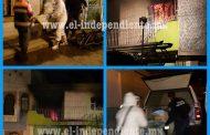 Madre y dos de sus hijos mueren durante incendio en Zamora; hay dos sobrevivientes
