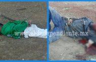 Encuentran malheridos a dos hombres atacados con piedras