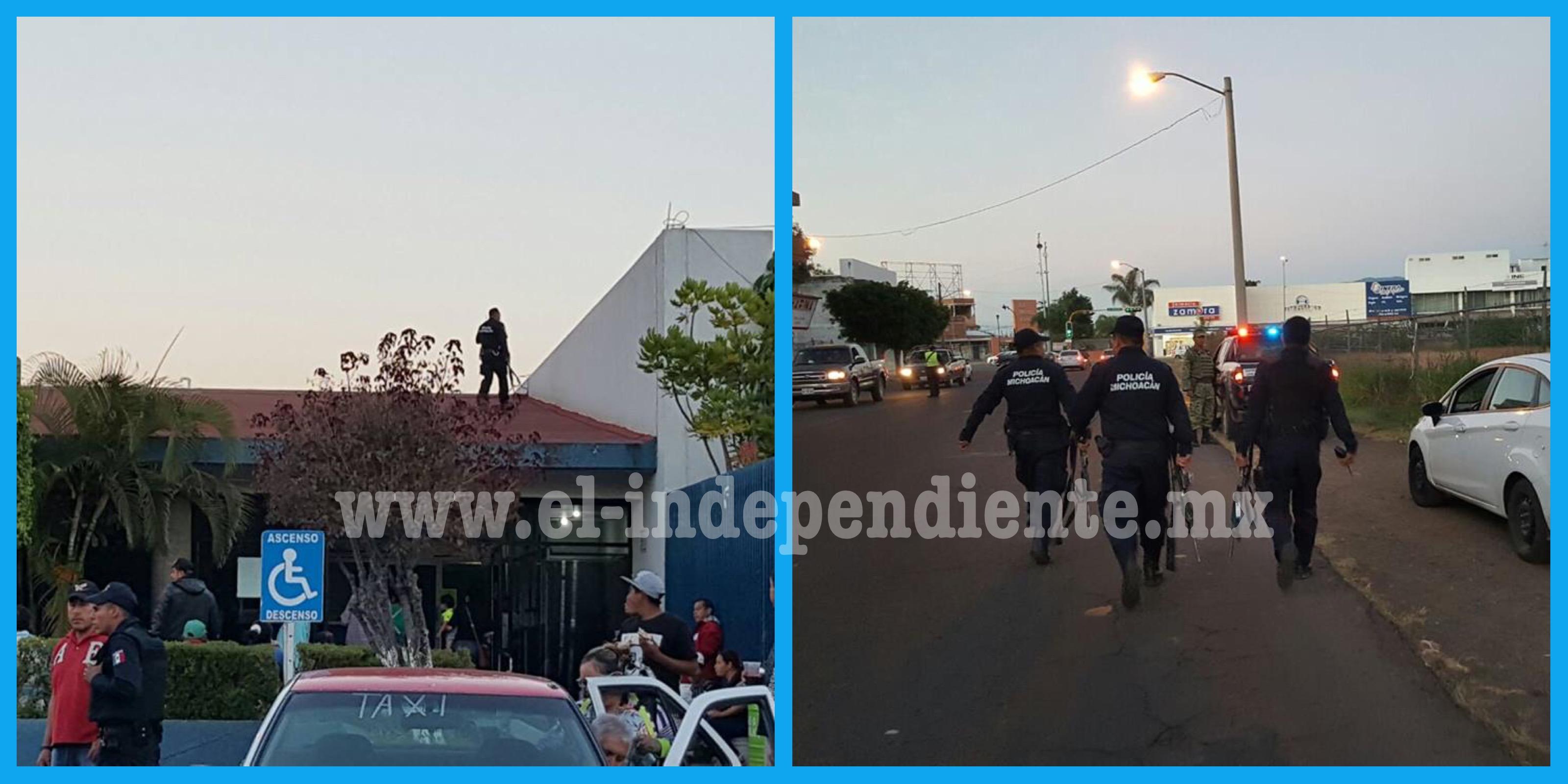 Presunto homicida se le fuga de hospital a la Policía de Zamora