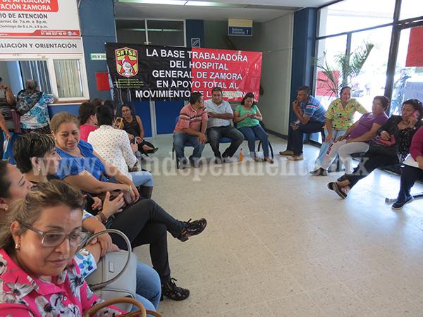 Sindicalizados realizan  nuevo paro en el sector salud