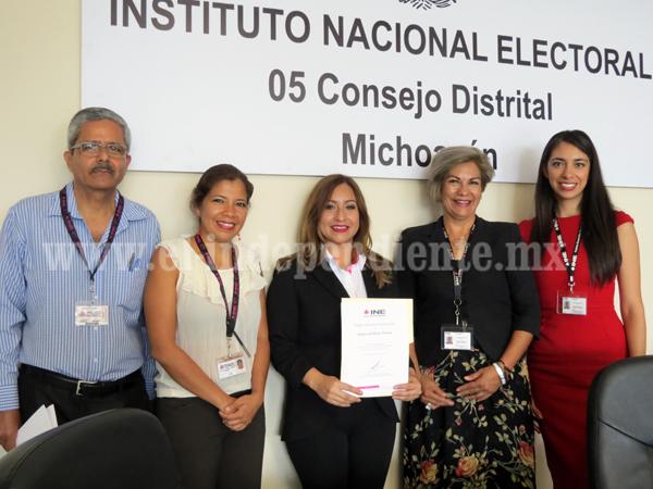 INE reconoció labor de supervisores y capacitadores electorales