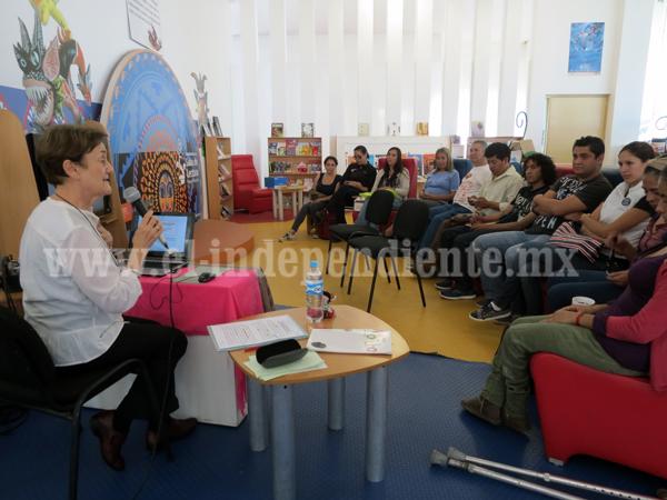 En México la lectura no se fomenta de manera apropiada: Nicole Everaert