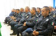 Buscarán conformar plantilla de 600 policías municipales