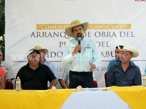 Arrancó la reconstrucción del puente La Yerbabuena en Camucuato
