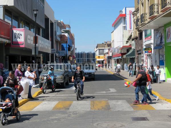 Convertirán en zonas peatonales calles Guerrero y Amado Nervo