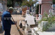 Alistan recepción de 25 mil personas por Día de Muertos en Panteón Municipal