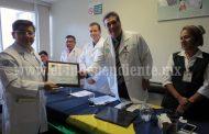 Hospital  de zona del IMSS,  ejemplo en atención médica de segundo nivel