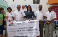 Gestión de Adriana Campos logró concretar apoyo de millón de pesos para CRI