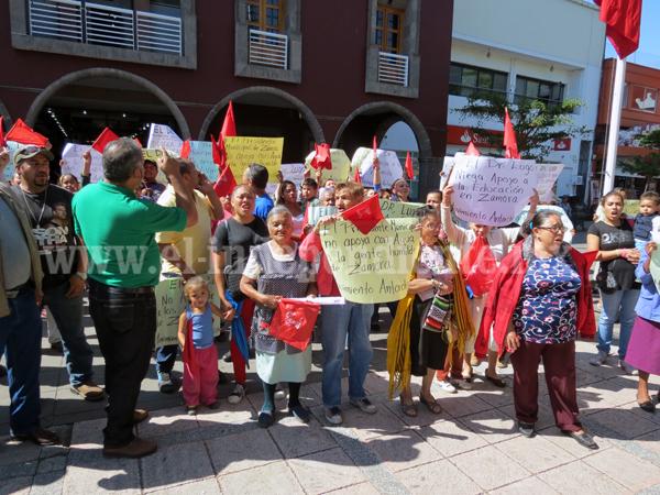 Piden evitar desalojo de 200 familias de colonia Jacinto López