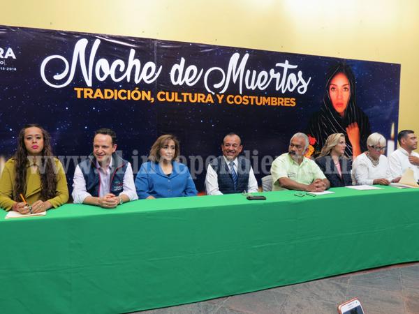 Tradiciones del Día de Muertos se podrán vivir en Zamora