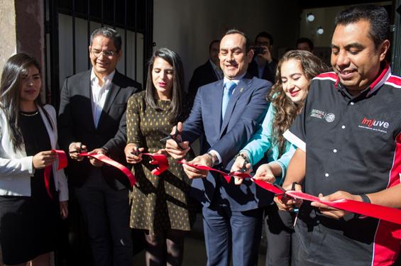 Inauguran en Michoacán la primera Casa del Emprendedor Joven del país