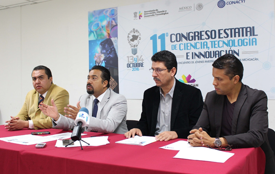 Más de mil 300 asistentes recibirá el 11º Congreso Estatal de Ciencia, Tecnología e Innovación